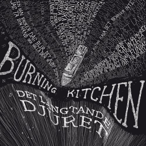 Cover BURNING KITCHEN, det längtande djuret