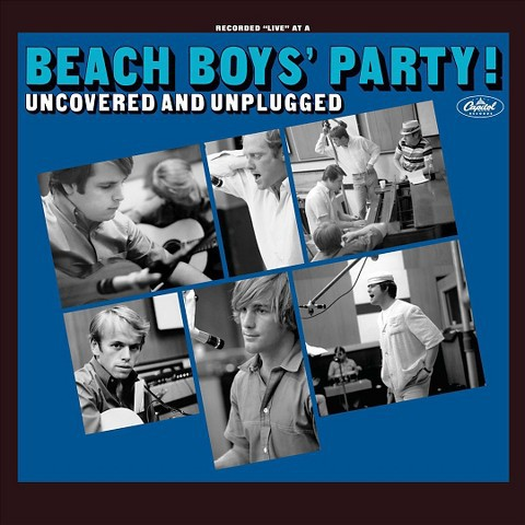 Cover BEACH BOYS, the beach boys party/ uncovered and unplugged