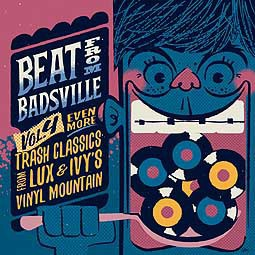 V/A, beat from badsville vol. 4 cover