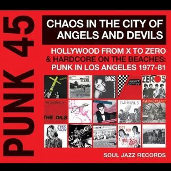 Cover V/A, punk 45: chaos in the city of angels and devils