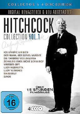 ALFRED HITCHCOCK, collectors edition cover