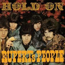 Cover RUPERT´S PEOPLE, hold on