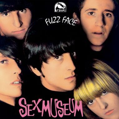 SEX MUSEUM, fuzz face cover
