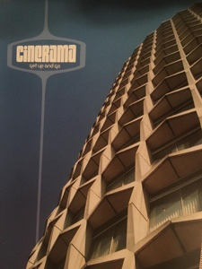 Cover CINERAMA, get up and go