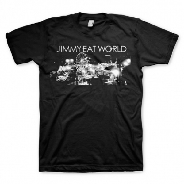 Cover JIMMY EAT WORLD, fair (boy) black