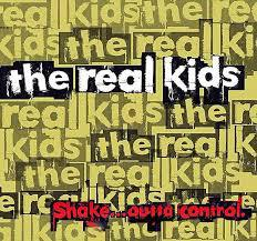 REAL KIDS, shake outta control cover