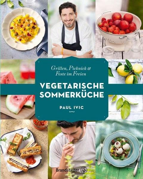 PAUL IVIC, vegetarische sommerküche cover