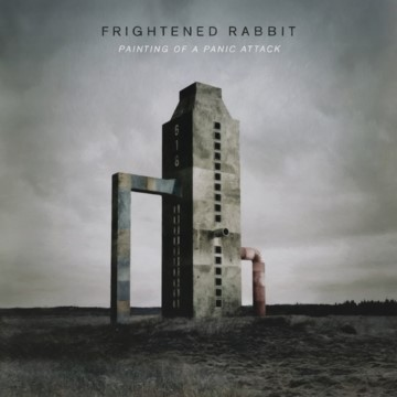 FRIGHTENED RABBIT, painting of a panic cover