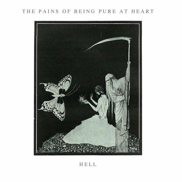 Cover PAINS OF BEING PURE AT HEART, hell/laid