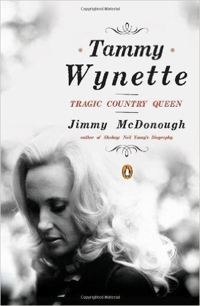 JIMMY MCDONOUGH, tammy wynette: tragic country queen cover