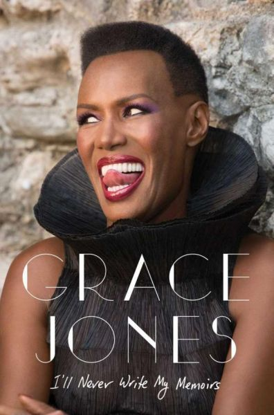 GRACE JONES, memoir cover