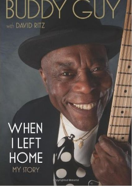 DAVID RITZ / BUDDY GUY, when i left home cover