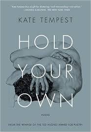 Cover KATE TEMPEST, hold your own