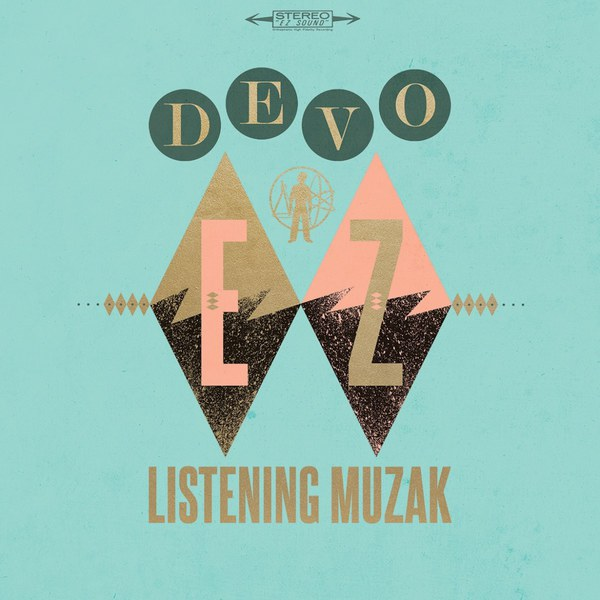Cover DEVO, ez listening muzak (lava lamp colored)