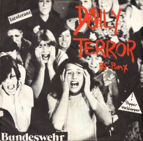 Cover DAILY TERROR, bs-punx ep