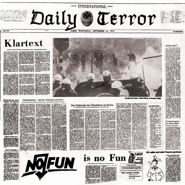 DAILY TERROR, klartext cover
