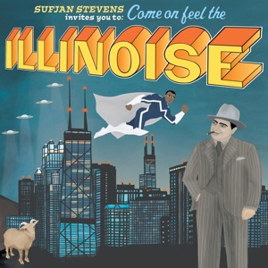 Cover SUFJAN STEVENS, illinoise (10th anniversary blue marvel edition)