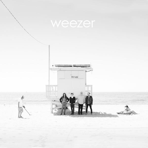 WEEZER, white album cover