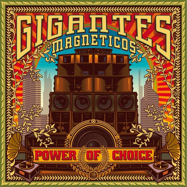 Cover GIGANTES MAGNETICOS, power of choice