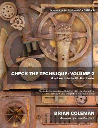 BRIAN COLEMAN, check the technique: volume 2 cover