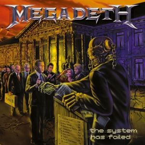 Cover MEGADETH, the system has failed