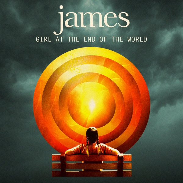 JAMES, girl at the end of the world cover