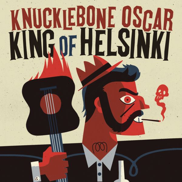 Cover KNUCKLEBONE OSCAR, king of helsinki