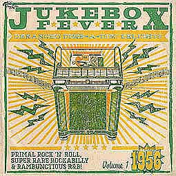 Cover V/A, jukebox fever - 1956