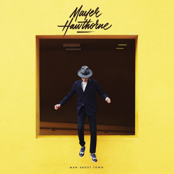 MAYER HAWTHORNE, man about town cover