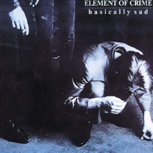 Cover ELEMENT OF CRIME, basically sad
