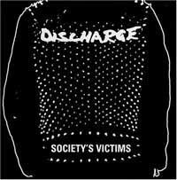 DISCHARGE, society´s victim vol. 2 cover