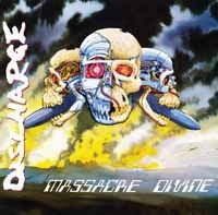 Cover DISCHARGE, massacre divine