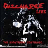 DISCHARGE, the nightmare continues cover