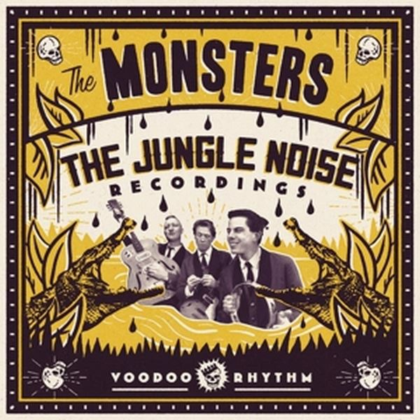 MONSTERS, jungle noise recordings cover