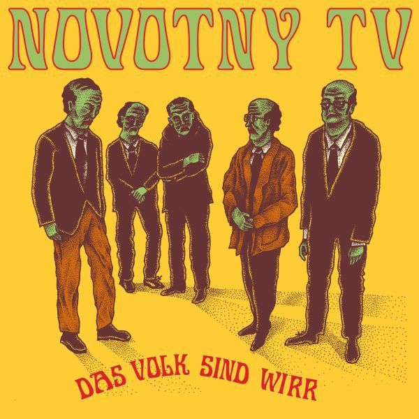 NOVOTNY TV, das volk sind wirr cover