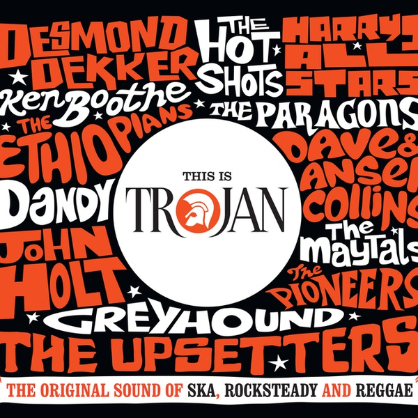 Cover V/A, this is trojan boxset
