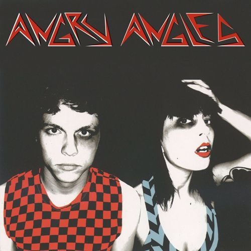 ANGRY ANGLES, s/t cover