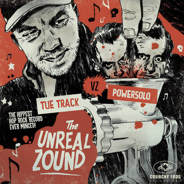 Cover TUE TRACK VS. POWERSOLO, the unreal zound