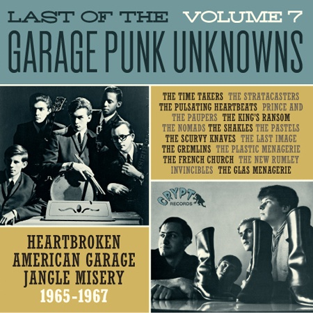 Cover V/A, garage punk unknowns vol. 7