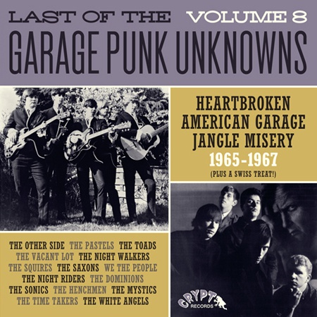 Cover V/A, garage punk unknowns vol. 8