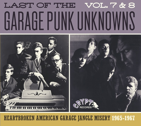 Cover V/A, garage punk unknowns vol. 7 & 8