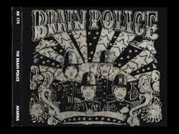 Cover BRAIN POLICE, san diego´s only psychedelic cops
