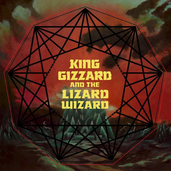 Cover KING GIZZARD & THE LIZARD WIZARD, nonagon infinity