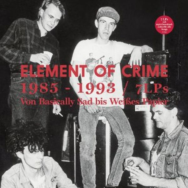 ELEMENT OF CRIME, 1985 - 1993 cover