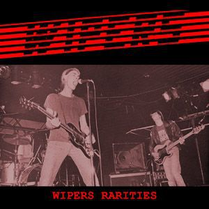 Cover WIPERS, rarities