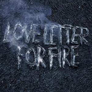 Cover SAM BEAM & JESCA HOOP, love letter for fire