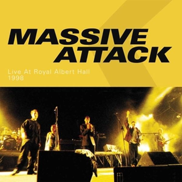 Cover MASSIVE ATTACK, live at the royal albert hall