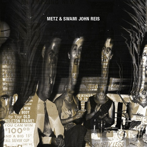 Cover METZ & SWAMI JOHN REIS, let it rust (RSD 2016)