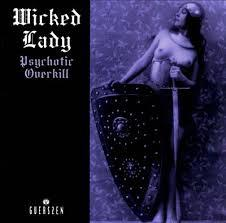 Cover WICKED LADY, psychotic overkill