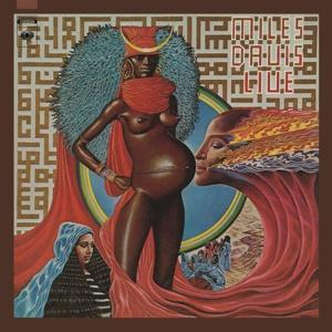 MILES DAVIS, live evil cover